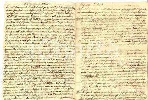 1840 MILANO Francesco PARODI tenta nientemeno che un furto