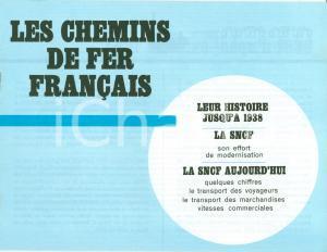 1973 SNCF Chemins de fer Français Storia progressi ferrovie CON MAPPE