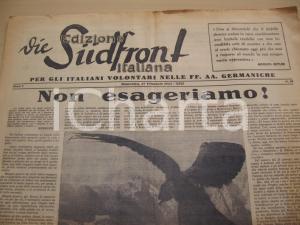 1944 RSI DIE SUDFRONT Fedeltà per l'alleato tedesco *Giornale