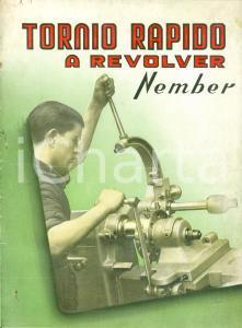 1950 ca NEMBER Tornio rapido a revolver ILLUSTRATO