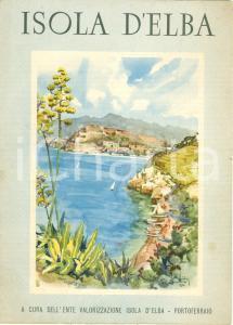 1950 ca ISOLA D'ELBA Vie d'accesso a PORTOFERRAIO Ill.