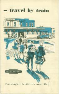 1950 ca BRITISH RAILWAYS Linee ferroviarie REGNO UNITO