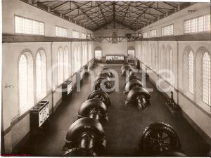 1939 BONDENO Burana Stabilimento Idrovoro sala macchine