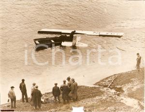 1928 PITTSBURGH, PENNSYLVANIA Aereo della United States Air Mail nel MONONGAHELA