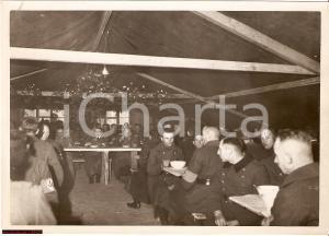 1940 WW2 ADOLF HITLER Weihnachtsessen, cena di Natale