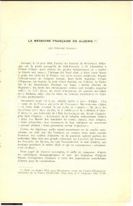 1955 Edmond Sergent MEDECINE FRANCAISE EN ALGERIE