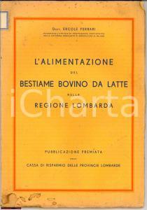 1930(?) ERCOLE FERRARI Alimentazione bovini Lombardia