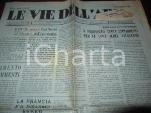 1933 LE VIE DELL'ARIA Contesa AIR FRANCE e LUFTHANSA per linee aeree SUD AMERICA
