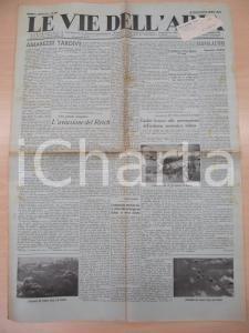 1934 LE VIE DELL'ARIA Preparativi occulti aviazione TERZO REICH *Giornale