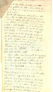 1930 ca Remo FORMICA Memorie teatrali *Saggio MANOSCRITTO 6 pp