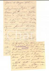 1908 LA SPEZIA Cacciatorpediere BERSAGLIERE Aleramo TORNIELLI vs il comandante