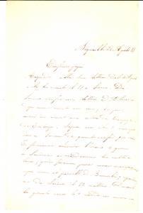 1885 BEIRUT (Libano) Tragico incidente al marinaio Giovanni Battista COLLA