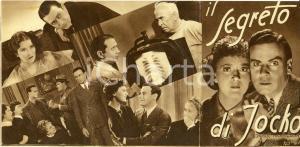 1936 IL SEGRETO DI JOKO Leavenworth case Donald COOK Jean ROUVEROL *Volantino