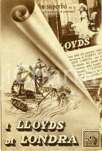 1936 LLOYDS DI LONDRA Lloyd's of London Tyrone POWER Madeleine CARROLL Volantino
