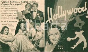 1937 HOLLYWOOD Something to sing about James CAGNEY Evelyn DAW Movie *Volantino