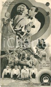 1936 BIONDA AVVENTURIERA George RAFT Dolores COSTELLO BARRYMORE Movie *Volantino