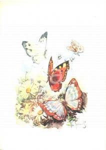 1974 T/N MICHELANGELO Menù colazione Illustratore Aldo RAIMONDI Chef DANIELI