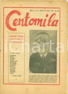 1950 CENTOMILA Dizionario biografico Italiani d'oggi BADOGLIO BOTTAI DE GASPERI