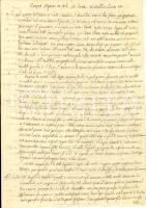 1750 ca L'AQUILA? Predica Giudizio Universale Monastero SAN BASILIO Manoscritto
