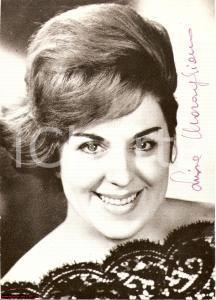 1970 Luisa MARAGLIANO Soprano Fotografia AUTOGRAFA