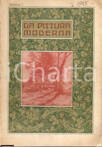 1925 PITTURA MODERNA quadri contemporani ILLUSTRATO