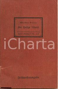 1944 ADALBERT STIFTER Heilige Abend (Notte di Natale)