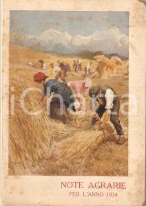 1924 MILANO Società Italiana Prodotti Azotati CALCIOCIANAMIDE Note Agrarie
