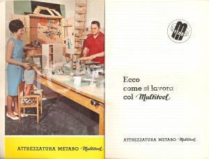 1965 ca METABO Attrezzatura MULTITOOL Manuale d'uso *ILLUSTRATO