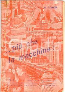 1944 Angelo RONCO Più che la macchina! Apologetico