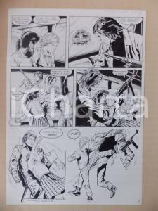 1970 SULL'AUTOBUS DELLA SCUOLA Luciano BERNASCONI Bimbi picchiano ladri *Tavola