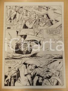 1996 CRONONAUTI 5 Luciano BERNASCONI Olandese volante *Tavola originale LUBE