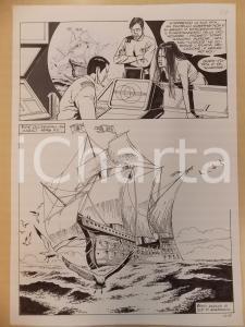 1996 CRONONAUTI 5 Luciano BERNASCONI Veliero a sud della Giamaica *Tavola LUBE