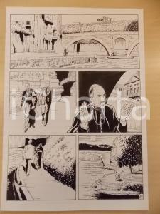2001 WAMPUS Luciano BERNASCONI Cardinale passeggia su riva del fiume *Tavola