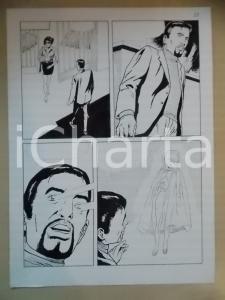 2001 L'AUTRE Luciano BERNASCONI Apparizione di una maga *Tavola originale LUBE