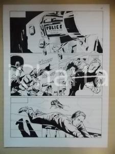 2001 L'AUTRE Luciano BERNASCONI Poliziotti alieni con pistole laser *Tavola LUBE