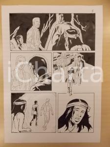 2001 WA-TAN-PEH Luciano BERNASCONI Fantasma in infermeria *Tavola originale LUBE