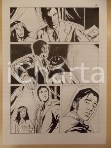 2001 LUBE Luciano Bernasconi WA-TAN-PEH incontra fantasma *Tavola originale
