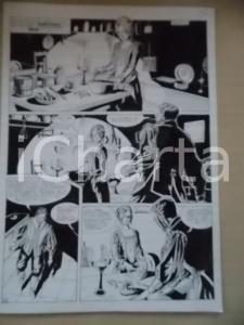 1995 CRONONAUTI Luciano BERNASCONI Cuoca prepara la cena *Tavola originale LUBE