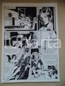 1995 CRONONAUTI Luciano BERNASCONI Uomo nella vasca da bagno *Tavola originale
