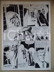1995 CRONONAUTI Luciano BERNASCONI Dialogo tra servo e padrone *Tavola originale