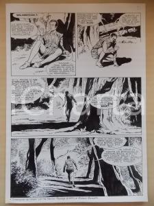 1995 CRONONAUTI Luciano BERNASCONI Uomo perso nella foresta *Tavola originale