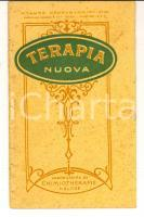 1933 PARIS Laboratorio chimicoterapia HELOSE Terapia nuova *Libretto