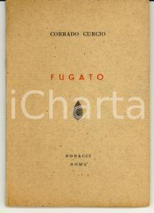 1954 Corrado CURCIO Fugato Ed. Bonacci