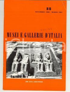 1960 Musei e Gallerie d'Italia n° 13 - Rivista