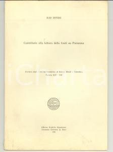 1985 Elio DOVERE Lettura delle fonti su PORSENNA