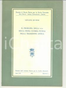 1974 CATANIA Giovanna DE SENSI Problema della AITIA
