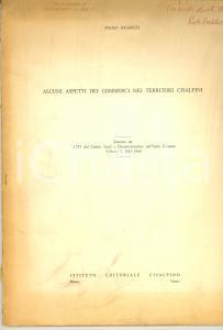 1968 Paolo BALDACCI Commerci nei territori cisalpini
