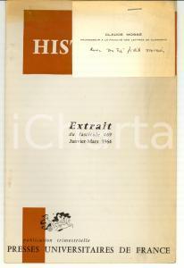 1964 Claude MOSSE' Revolution de 411 à ATHENES