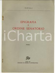 1982 GIFFONE VALLE PIANA Augusto FRASCHETTI Un senatore