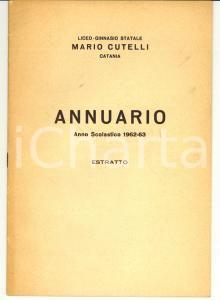 1963 CATANIA Salvatore GENNARO Frammento Nomos Basileus